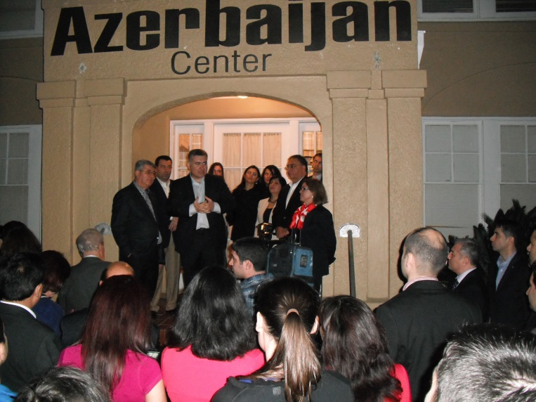 Hbsca Welcomes Guest Delegation To The Azerbaijan Cultural Center Houston Baku Sister City Association